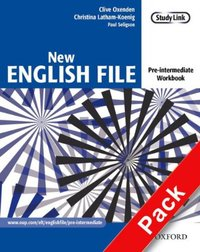 New English File Pre-Intermediate: Workbook With Answer Booklet And Multirom Pack