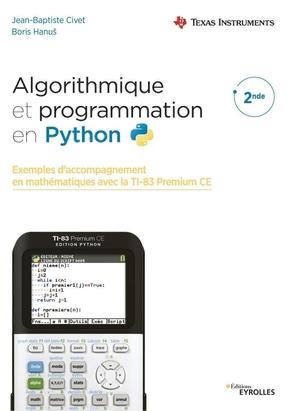 J.-B.Civet, B.Hanuš- Algorithmique et programmation en Python
