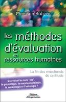 Christian Balicco - Les méthodes d'évaluation en ressources humaines