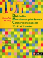 Distribution, Mercatique du point de vente, Commerce international TC 1re et 2e années IUT