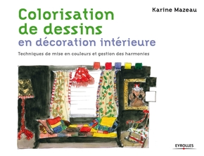 K.Mazeau- Colorisation de dessins en décoration intérieure