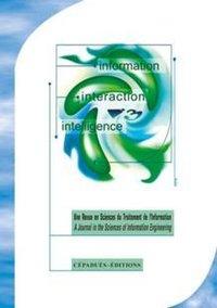 Revue I3 – Information Interaction Intelligence - Volume 7,  n°2, 2007
