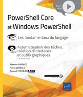 PowerShell Core et Windows PowerShell