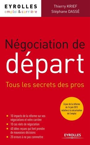 Stéphane Dassé, Thierry KRIEF- Négociation de départ