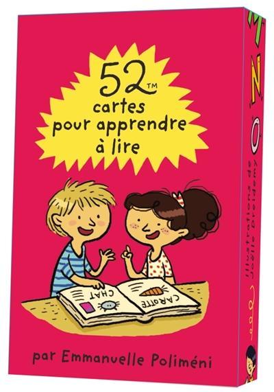 52 Cartes Pour Apprendre A Lire Polimeni Emmanuelle Librairie Eyrolles