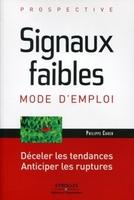 Philippe Cahen - Signaux faibles, mode d'emploi