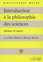 Introduction a la philosophie des sciences