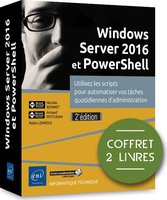 Windows Server 2016 et PowerShell