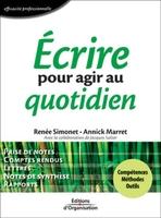R.Simonet, A.Marret - Ecrire pour agir au quotidien