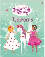 Sticker book ; sticker dolly dressing ; unicorns