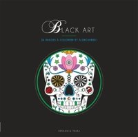 Coloriage black art