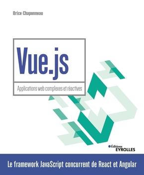 couverture du livre Vue.js - Applications web complexes et réactives