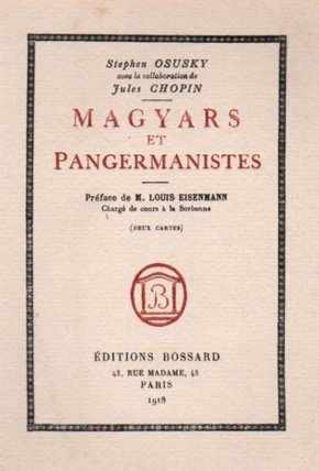 Magyars et pagermanistes