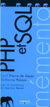 C.Pierre de Geyer, G.Ponçon- PHP et SQL