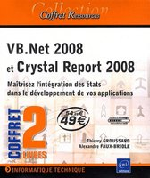 Coffret VB.Net 2008 et Crystal Report 2008