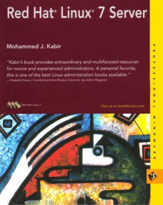 Red Hat Linux 7 Server - M Kabir - 2ème édition - Librairie Eyrolles