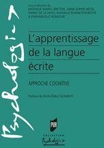 Apprentissage de langue ecrite