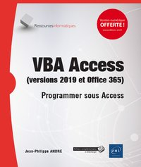 VBA Access (versions 2019 et Office 365)