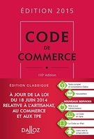 Code de commerce - 2015