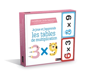 Je joue et j'apprends les tables de multiplication