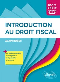 Introduction au droit fiscal