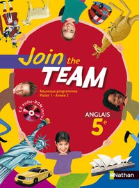 Join the Team - Anglais - 5e