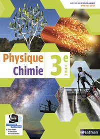Physique chimie 3e cycle 4 - manuel 2017