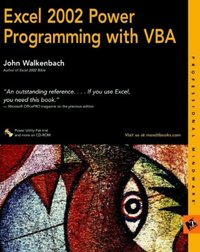 Excel 2002 Power Programming with VBA - J  Walkenbach - Librairie Eyrolles