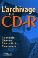 L'archivage sur cd-r