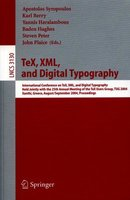 TeX, XML, and Digital Typography