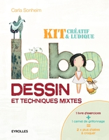 C.Sonheim - Labo dessin et techniques mixtes - Kit créatif et ludique