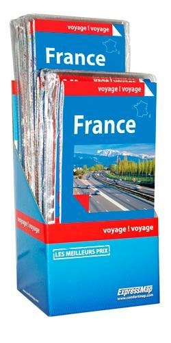 Display france 12+1 ex. gratuit (carte en papier)