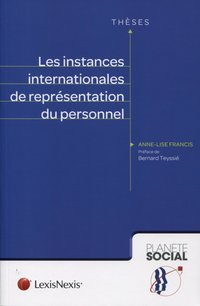 Les instances internationales de représentation du personnel