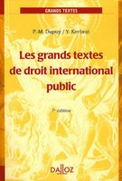 Les grands textes de droit international public
