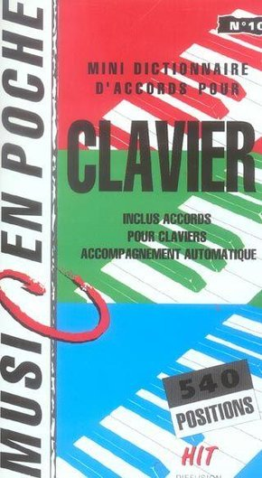 Dictionnaire Accords Clavier
