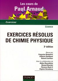 Exercices résolus de chimie physique