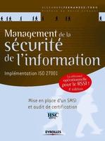A.Fernandez-Toro - Management de la sécurité de l'information