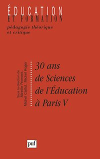 30 ans de sciences de l'éducation à paris v