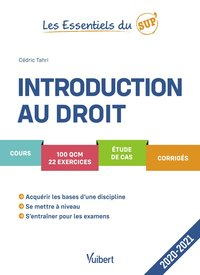 Introduction au droit - 2020-2021