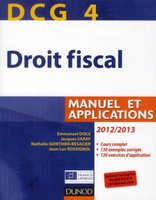 Droit fiscal - DCG 4 - Manuel et applications