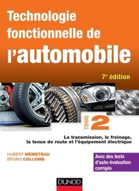 Technologie fonctionnelle de l'automobile - Volume 2
