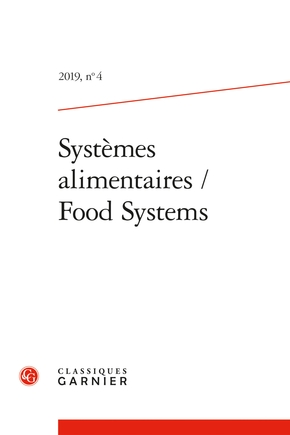 Systèmes alimentaires / food systems n.2019/4