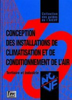 Conception des installations de climatisation et de conditionnement d'air