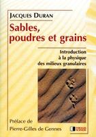 Jacques Duran - Sables poudres et grains