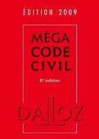 Méga code civil - 2009