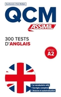 Qcm ; 300 tests d'anglais ; a.2