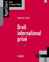 Droit international privé - 2018