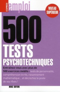 500 tests psychotechniques