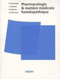 Pharmacologie et matiere medicale homeopathique
