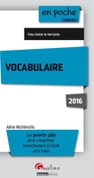 Vocabulaire - 2016